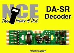 NCE DA-SR DCC DECODER for Atlas Kato Athearn Kato Stewart HO scale DASR 524-106 in Toys & Hobbies, Model Railroads & Trains, HO Scale   eBay