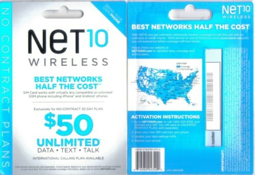 NET10 SIM CARD FACTORY SEALED BRAND NEW!!! AT&T NETWORK in Cell Phones & Accessories, Phone Cards & SIM Cards, SIM Cards | eBay