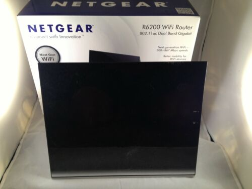 NETGEAR R6200 867 Mbps 4-Port Gigabit Wireless Router (ebay_NetgearR6200) in Computers/Tablets & Networking, Home Networking & Connectivity, Wireless Routers | eBay