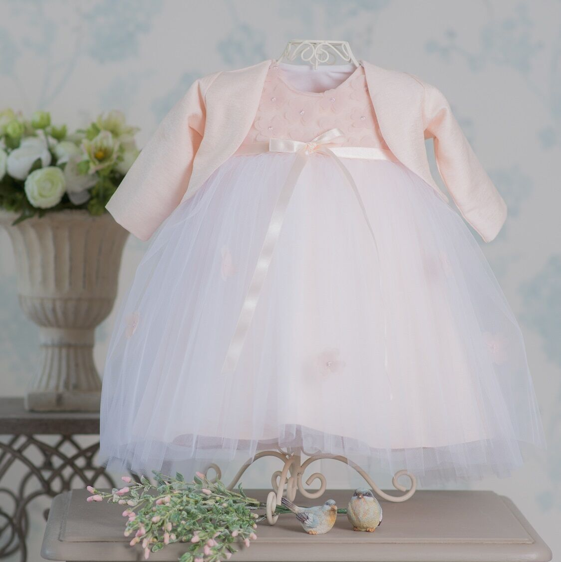 Traumhaft schön ♥♥♥NEU♥♥♥ Bolero für besondere Anlässe Taufkleid Festkleid