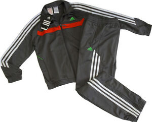 neu adidas gr 176 trainingsanzug jogginganzug anzug. Black Bedroom Furniture Sets. Home Design Ideas