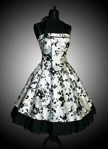 neu abendkleid petticoat kleid abiballkleid 50er jahre ebay. Black Bedroom Furniture Sets. Home Design Ideas