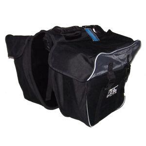 neu fahrrad pack tasche 2 fach doppeltasche m wave taschen. Black Bedroom Furniture Sets. Home Design Ideas