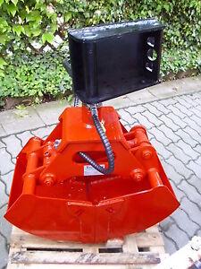 NEU-Greifer-R41-145-Breite-410-mm-ideal-fuer-Minibagger-Anbaubagger-Kran-Multicar