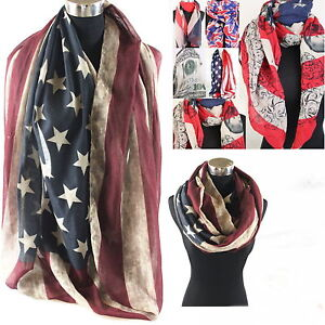 NEU-XXL-USA-AMERIKA-LOOP-SCHAL-TUCH-RUNDSCHAL-Stars-and-Stripes-Sterne-NEU-01