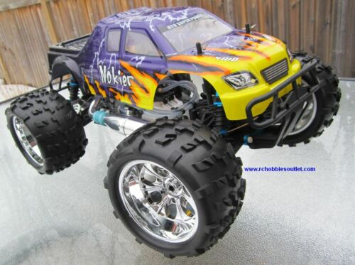 NEW 1/8 RADIO CONTROL CAR RC NITRO 4WD MONSTER TRUCK in Toys & Hobbies, Radio Control & Control Line, Radio Control Vehicles | eBay