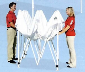 New 10 039 X 10 039 Ez Up Canopy White Replacement Frame