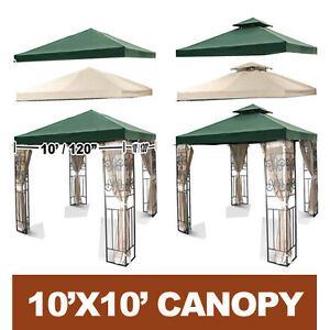 10x10 Gazebo Replacement Canopy Rainwear