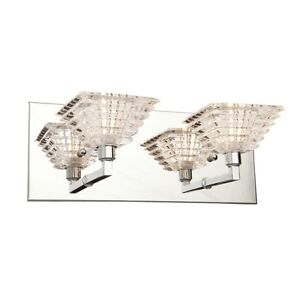 Bathroom Fixtures on Details About New 2 Light Bathroom Vanity Lighting Fixture  Chrome