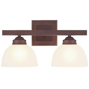 Vintage Bathroom Fixtures on Fixtures On New 2 Light Bathroom Vanity Lighting Fixture Vintage
