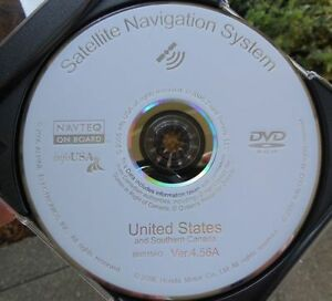 2005 Acura  on New 2005 2006 2007 2008 Acura Mdx Rl Navigation Dvd Map Version 4 56a