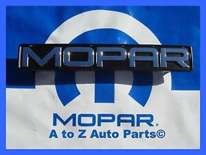 Dodge Charge Mopar on New 2011 2012 Dodge Charger Mopar 11 Grille Emblem Nameplate Oem