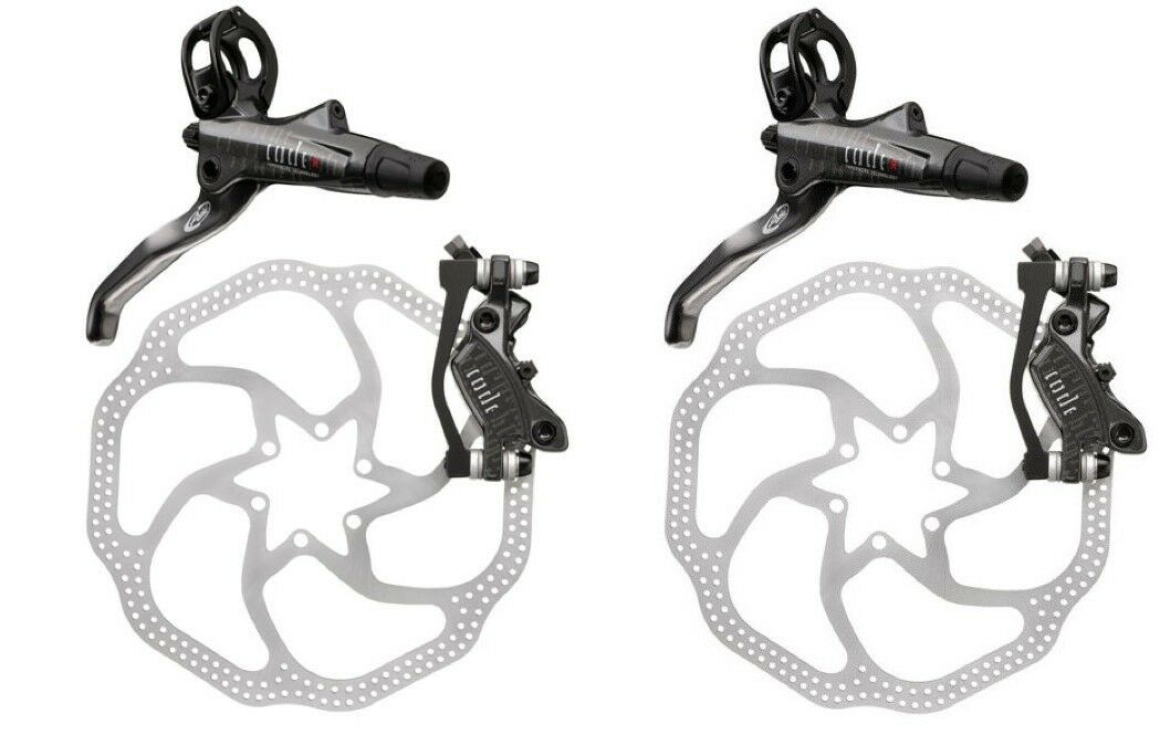NEW 2012 AVID CODE R DISC BRAKE SET 200MM HS1 FRONT AND REAR 203MM 8