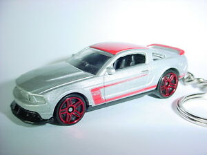 Ford Mustang Boss    on New 2012 Ford Mustang Boss 302 Custom Keychain Fob Key Roush Chain
