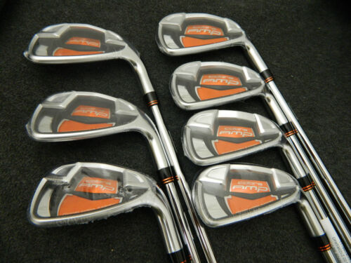 NEW 2012 KING COBRA AMP IRON SET 4-PW STEEL DYNALITE 90 REGULAR FLEX IRONS in Sporting Goods, Golf, Clubs | eBay