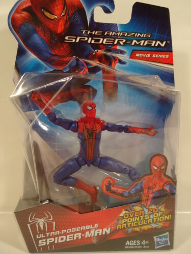 NEW 2012 MARVEL AMAZING SPIDER-MAN MOVIE SERIES ULTRA POSEABLE SPIDER-MAN FIGURE in Toys & Hobbies, Action Figures, Comic Book Heroes | eBay