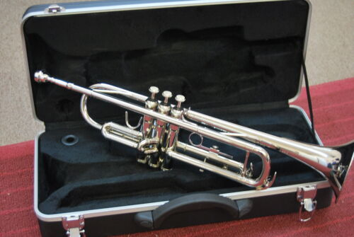NEW 2012 SILVER CONCERT MIDDLE/HIGH SCHOOL Bb BAND TRUMPET in Musical Instruments & Gear, Brass, Trumpet & Cornet | eBay