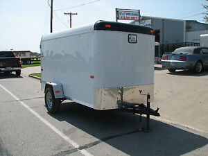 Enclosed Cargo Trailers Dallas TX http://www.ebay.com/itm/NEW-2013-5x10-5-x-10-Enclosed-Utility-Cargo-Trailer-EXPLORER-SERIES-Dallas-Texas-/130858098454