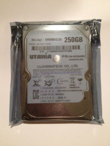 NEW 250 GB 2.5 SATA 5400 RPM 8 MB LAPTOP HARD DRIVE 1 YEAR WARRANTY in Computers/Tablets & Networking, Drives, Storage & Blank Media, Hard Drives (HDD, SSD & NAS) | eBay