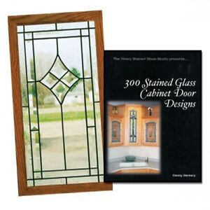 STAINED GLASS CABINET DOORS PROJECT DESIGN BOOK KITCHEN IDEAS EBay