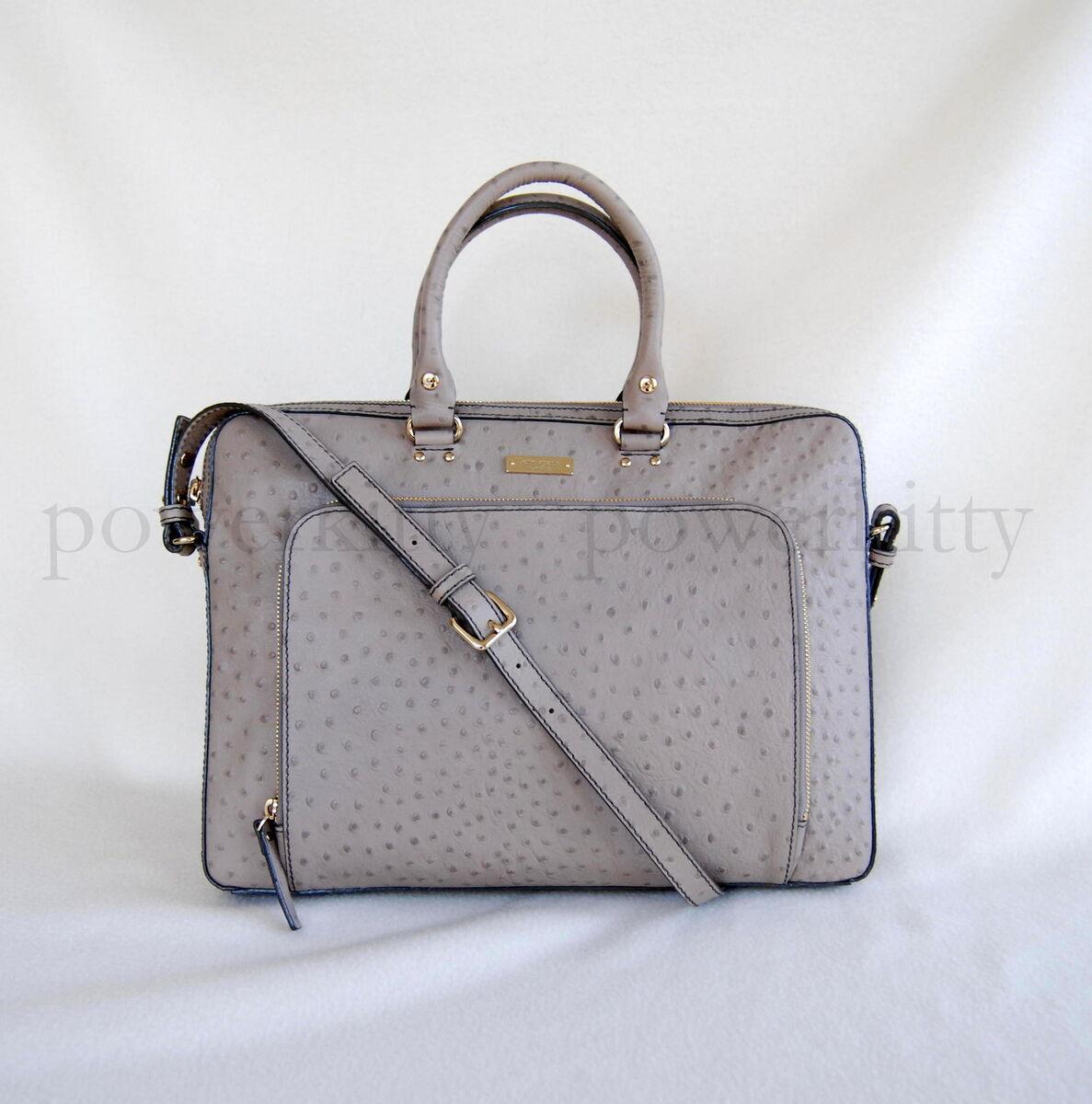 New $498 Kate Spade Portola Valley Janine Laptop Case Bag Busines Tote