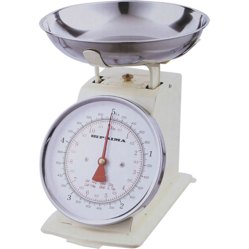 New cream 5kg heavy weight traditional kitchen weighing for Traditional kitchen scales