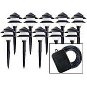 new 95534 landscape yard 10 light set low voltage sale ebay. Black Bedroom Furniture Sets. Home Design Ideas