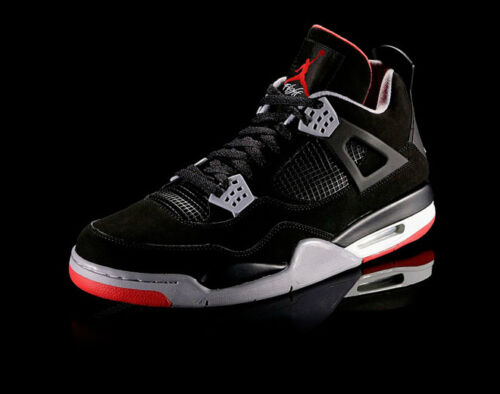 NEW AIR JORDAN RETRO IV 4 BLACK RED CEMENT BRED SZ 7Y~13. SHIP FEDEX. W/RECEIPT in Clothing, Shoes & Accessories, Men's Shoes, Athletic | eBay