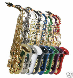 NEW ALL COLOR ALTO SAXOPHONE SAX W/5 YEARS WARRANTY. in Musical Instruments & Gear, Woodwind, Saxophone | eBay