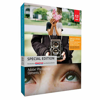 NEW! Adobe Photoshop Elements 11 Windows & Mac Costco Version in Computers/Tablets & Networking, Software, Image, Video & Audio | eBay