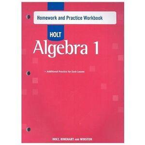 holt mcdougal larson common core practice holt mcdougal algebra 1