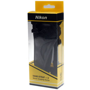 ★ NEW Authentic Nikon HAND GRIP STRAP Ⅱ for AH4 AH-4