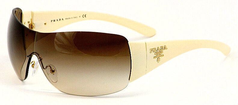 Authentic PRADA Milano Ivory Mens Womens Sunglasses SPR 22M PR 22MS ZVA 6S1