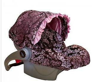 NEW BABY BELLA MAYA Pink Champagne Infant Car Seat Cover $80 in Baby, Car Safety Seats, Car Seat Accessories | eBay