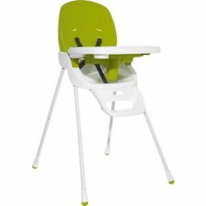 new babystart lime green white baby high low feeding. Black Bedroom Furniture Sets. Home Design Ideas