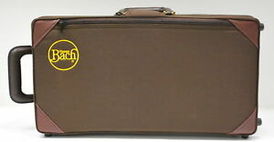 NEW BACH STRADIVARIUS 1843STD TRUMPET CASE, Bb AND C in Musical Instruments & Gear, Brass, Trumpet & Cornet | eBay
