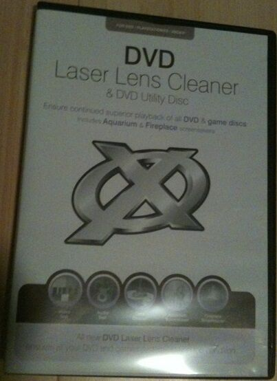New Blaze DVD Laser Lens Cleaner Cleaning Kit CD Blue Ray PS2 PS3 Wii