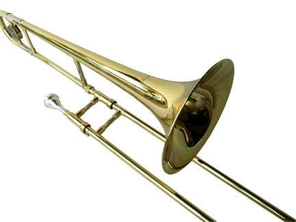 NEW BRASS CONCERT BAND Bb SLIDE TROMBONE W/CASE.APPROVED+WARRANTY in Musical Instruments & Gear, Brass, Trombone | eBay