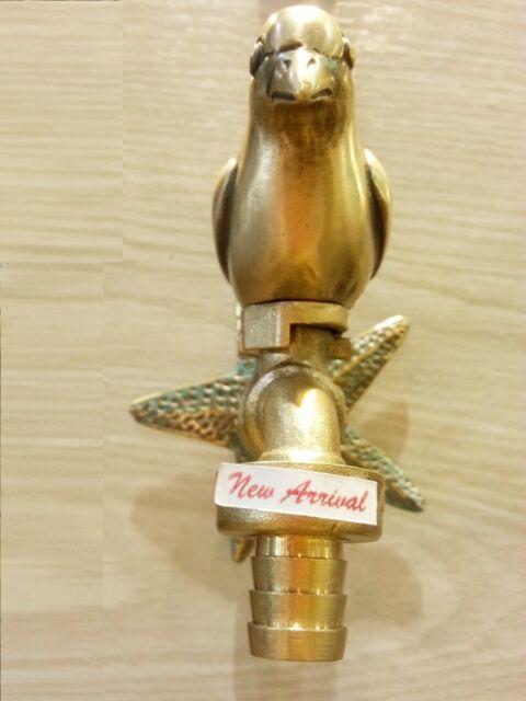 Brass Garden Tap Faucet New Bird Spigot Vintage Water Home Decor Living Outdoor Ebay