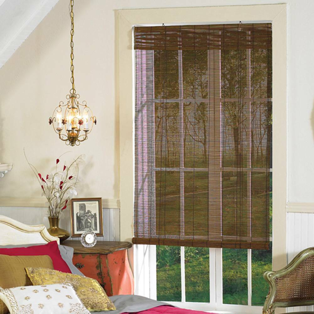 Roll up window shades 2017 grasscloth wallpaper for Roll up screens for windows