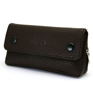 New Brown Leather Tobacco Pouch Pipe Pocket Pipe Tool ... S Pouch