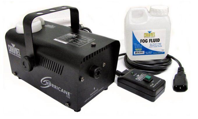 NEW! CHAUVET HURRICANE H700 FOG/SMOKE PRO MACHINE H-700