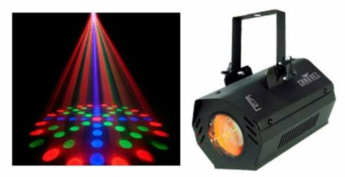 NEW CHAUVET LX-5 Dance Club Stage Sound Activated LED DJ Moonflower Effect Light in Musical Instruments & Gear, Stage Lighting & Effects, Stage Lighting: Single Units | eBay