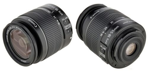 NEW Canon EF-S / 18-55 / 18-55 is / 18-55mm / 1855 is / F/3.5-5.6 II IS Lens in Cameras & Photo, Lenses & Filters, Lenses | eBay