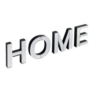 New contemporary mirror home word letters freestanding for Furniture 5 letters word whizzle