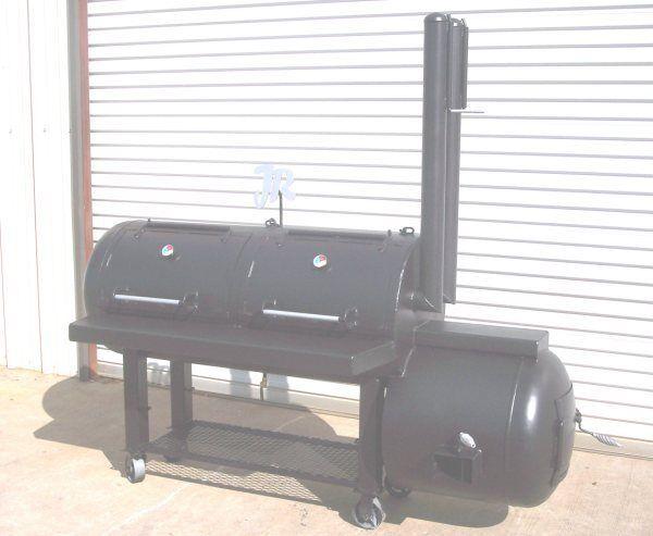 Custom Backyard Smokers : New Custom Patio BBQ Pit Smoker Charcoal Grill