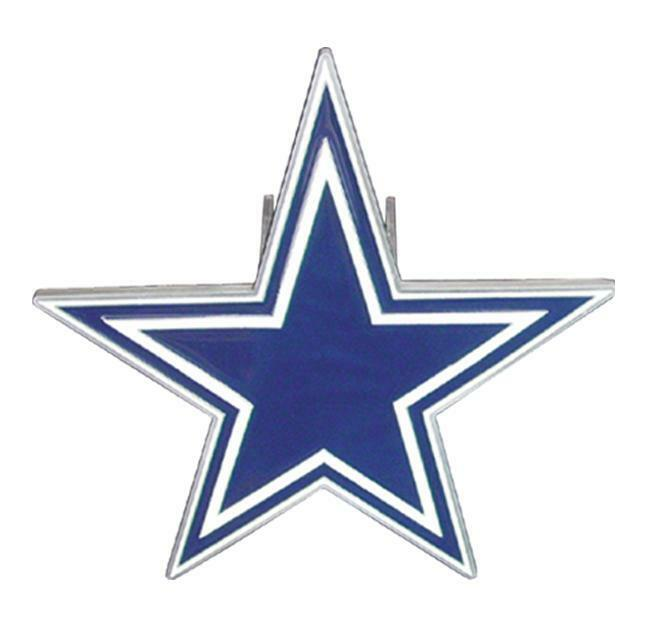 NEW DALLAS COWBOYS LARGE NFL TRUCK TRAILER HITCH COVER