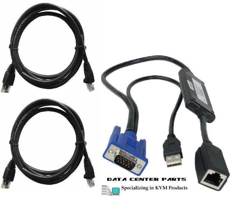 Dell 0K9446 03R874 USB KVM Switch POD SIP CIM Module Cable 2161DS 2160AS