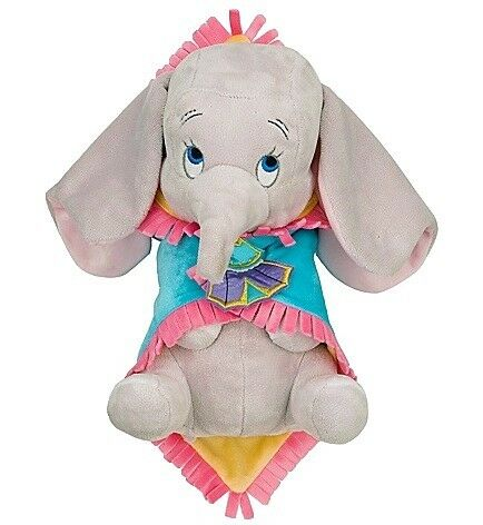 New Disney World Dumbo Babies Baby Plush Doll And Blanket
