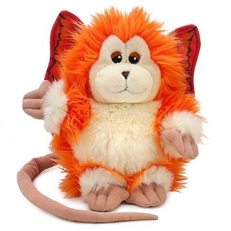New Disney Michael Jackson Captain EO Orange 9 Fuzzball Plush Doll